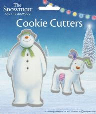 The Snowman and The Snowdog Cookie Cutters